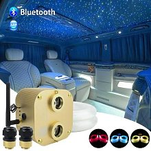 Fibre optique Bluetooth 20W, Double têtes, moteur