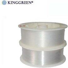 Fibre optique en plastique PMMA, câble lumineux