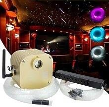Fibre optique LED pcs 3m, effet scintillant de
