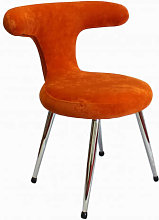 FIFTIES - Chaise velours colore