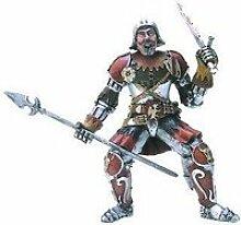 Figurine chevalier rouge