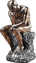 Figurine en résine de style européen -