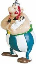 Figurine- obelix tenant idefix 60502