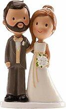 Figurine pour gâteau de mariés Clasic