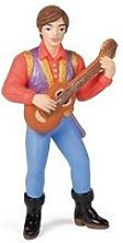 Figurine prince troubadour