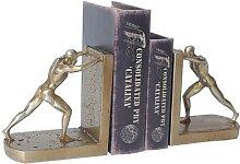 Figurines de livre en résine or, accessoires pour