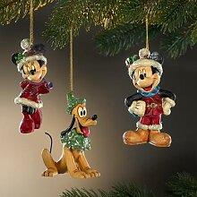 Figurines traditionnelles de Noël Disney, Lot de