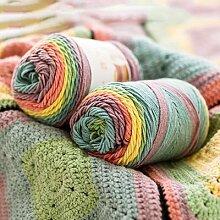 Fil à tricoter au Crochet 100g 193M, fil tricoté