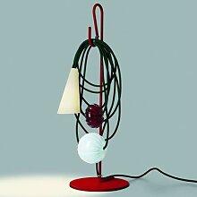 FILO RUBY JAYPURE-Lampe à poser H58cm rouge vert