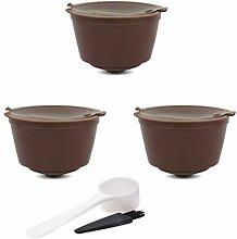 Filtre à café, 1/2 / 3pcs Capsule de café