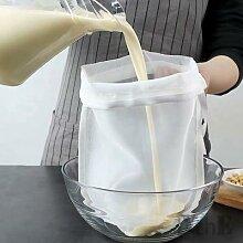 Filtre à lait de soja, sac à lait de noix, sac