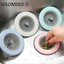 Filtre de vidange d'évier en Silicone, 1