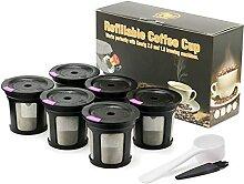 Filtre réutilisable de capsule de café