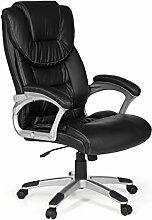 FineBuy chaise de bureau XXL fauteuil de direction