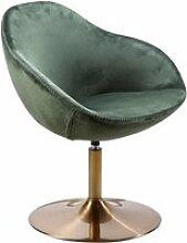 FineBuy Chaise longue Tissu 70x79x70 cm Fauteuil