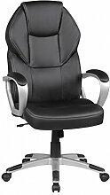 FineBuy Design chaise de bureau fauteuil de