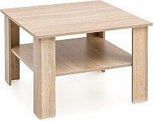 FineBuy Table Basse Bois Chêne Sonoma MDF Table