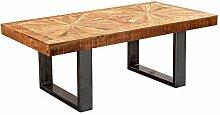 FineBuy Table Basse Mango en Bois Massif/Metal 105