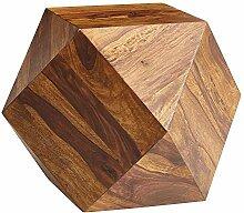 FineBuy Table Basse Sheesham en Bois Massif 57 x