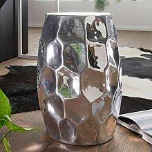 FineBuy Table d'appoint Métal 30x47x30 cm