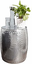 FineBuy Table d'appoint Métal Aluminium 42 x