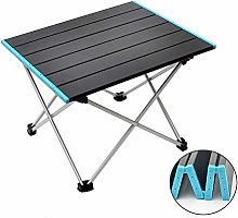 FIONAT Table de Camping Pliante Portable, Table