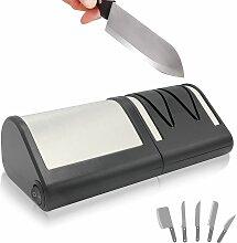 FISHTEC® Aiguiseur Electrique Couteaux Métal ou