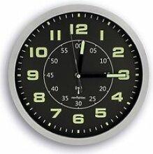 FISHTEC® Horloge Murale Ø30 cm Radio-pilotée