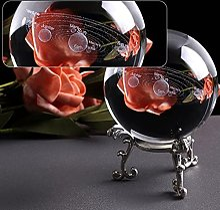 FISISZ K9 Cristal Globe Galaxie Miniatures Boule