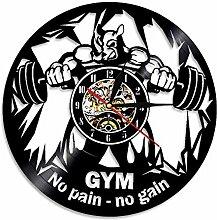 Fitness Club Motivation La Bête Horloge Murale