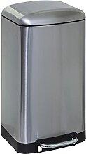Five - Poubelle en Métal 30 litres Coloris INOX