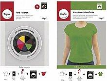 Fixateur + colorant textile pour lave-linge - Vert