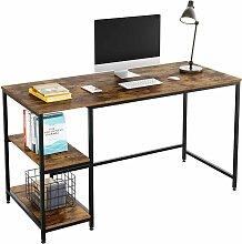 FIXKIT Bureau PC Table Table D'ordinateur Avec
