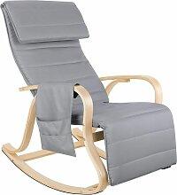 FIXKIT Fauteuil à bascule fauteuil relax avec