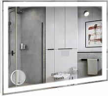 FIXKIT Miroir Anti-buée de Salle de Bain Miroir