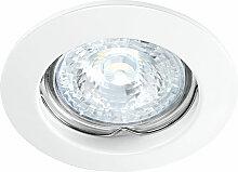 FIXO 230 CX -Encastre GU10, rond, fixe, blanc,