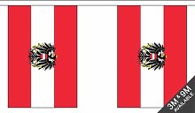 Flagmania® Guirlande de fanions nationales avec