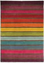 Flair Rugs - Tapis rectangle multicolore en laine