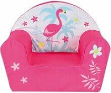 Flamant rose fauteuil club enfant CIJ3700057131333