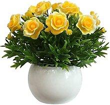 Fleur Artificielle en Pot Réaliste Et Vif Plante