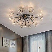 Fleur De Cristal Lampe De Plafond Scandinave