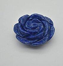 Fleur de lapis-lazuli sculptée - 57 grammes - 5