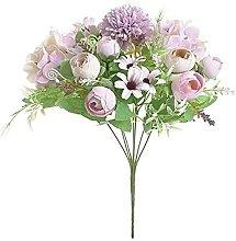 Fleur éternelle Soie Thé Roses Fleurs pour