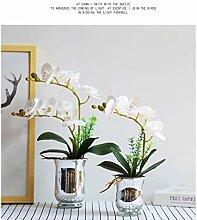 Fleur Phalaenopsis Fausse Fleur Artificielle