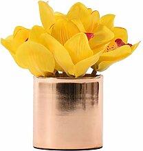 Fleurs artificielles avec pots Postmodern clair