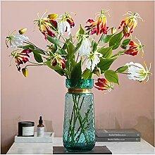 Fleurs Artificielles Bouquet de Lily Artificial