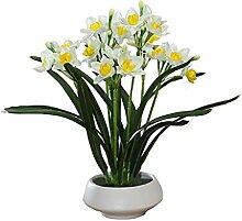 Fleurs Artificielles Narcisse artificielle Art de