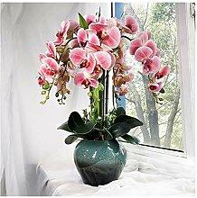 Fleurs artificielles Orchidée, Faux Bouquet