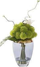 Fleurs Artificielles Velours artificiel boule