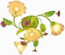 Fleurs Roses Blanches Salon Chambre À Coucher En